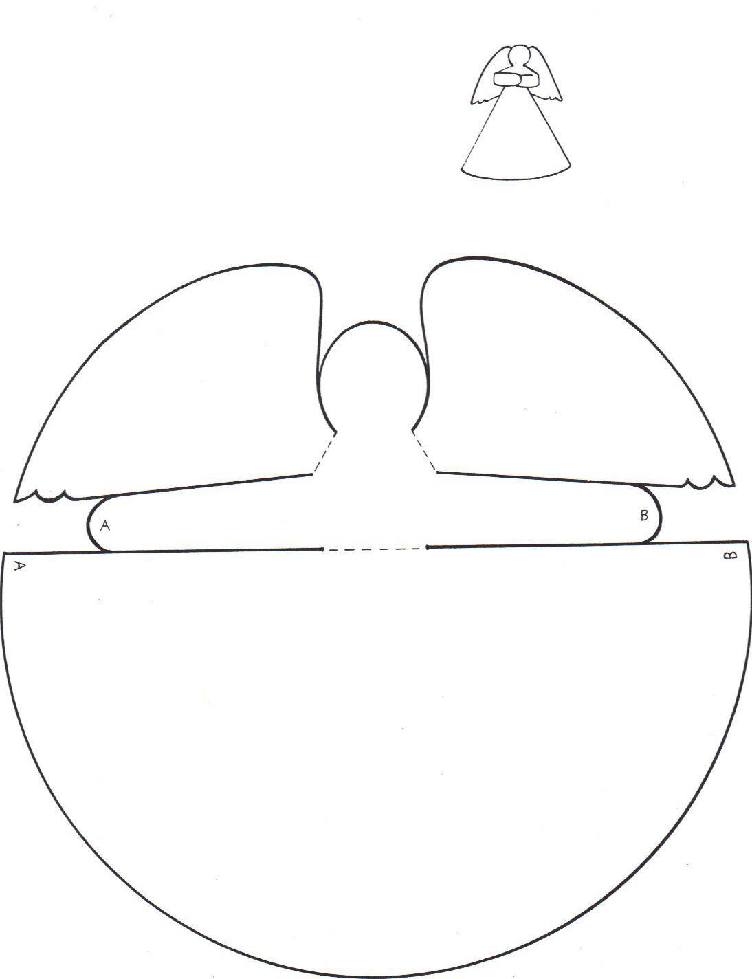 Engel Basteln Mit Kindern - 13 Einfache Ideen Für Schöne in Engel Bastelvorlage