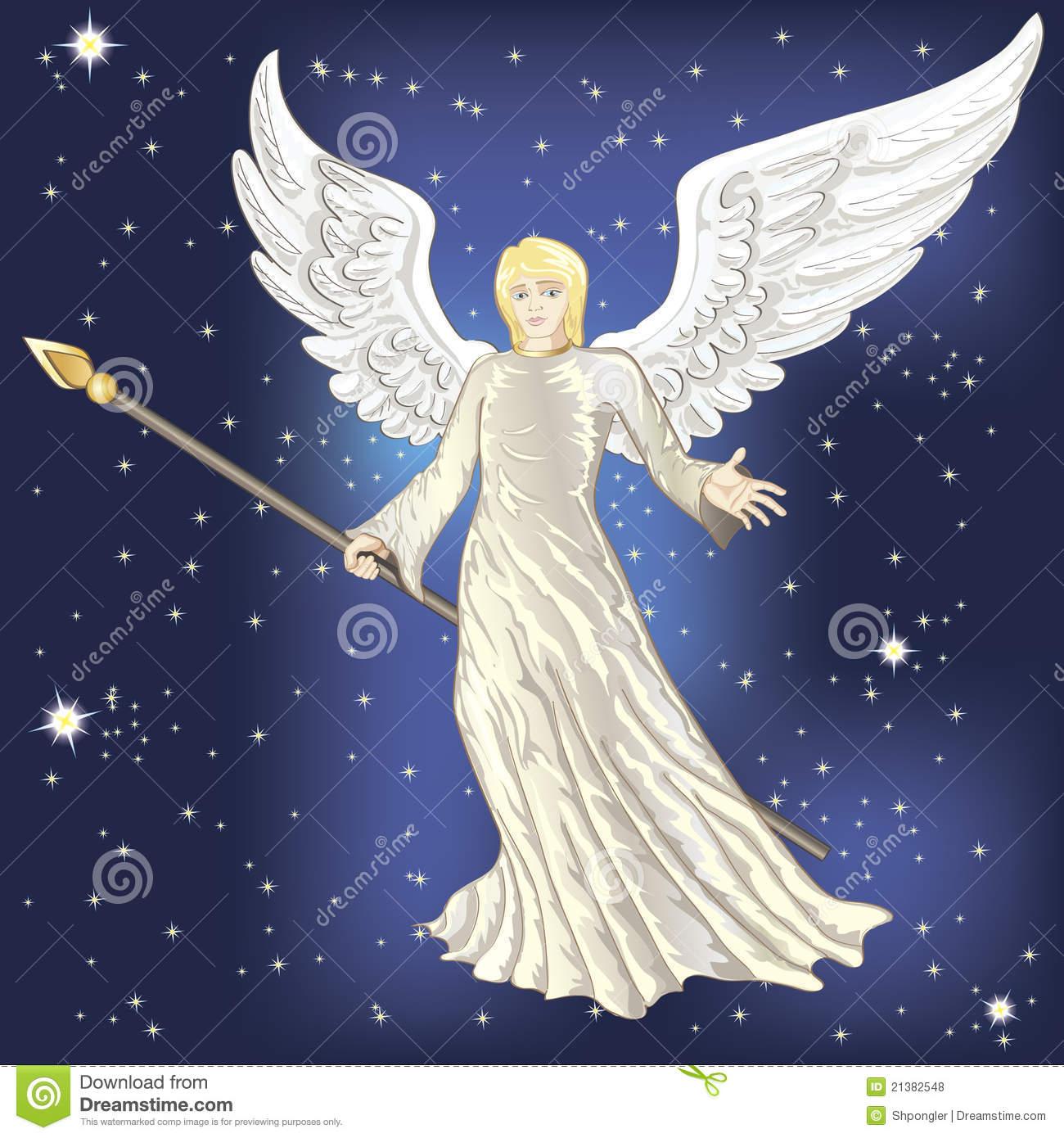 Engel Vektor Abbildung. Illustration Von Abbildung verwandt mit Bilder Engel Kostenlos
