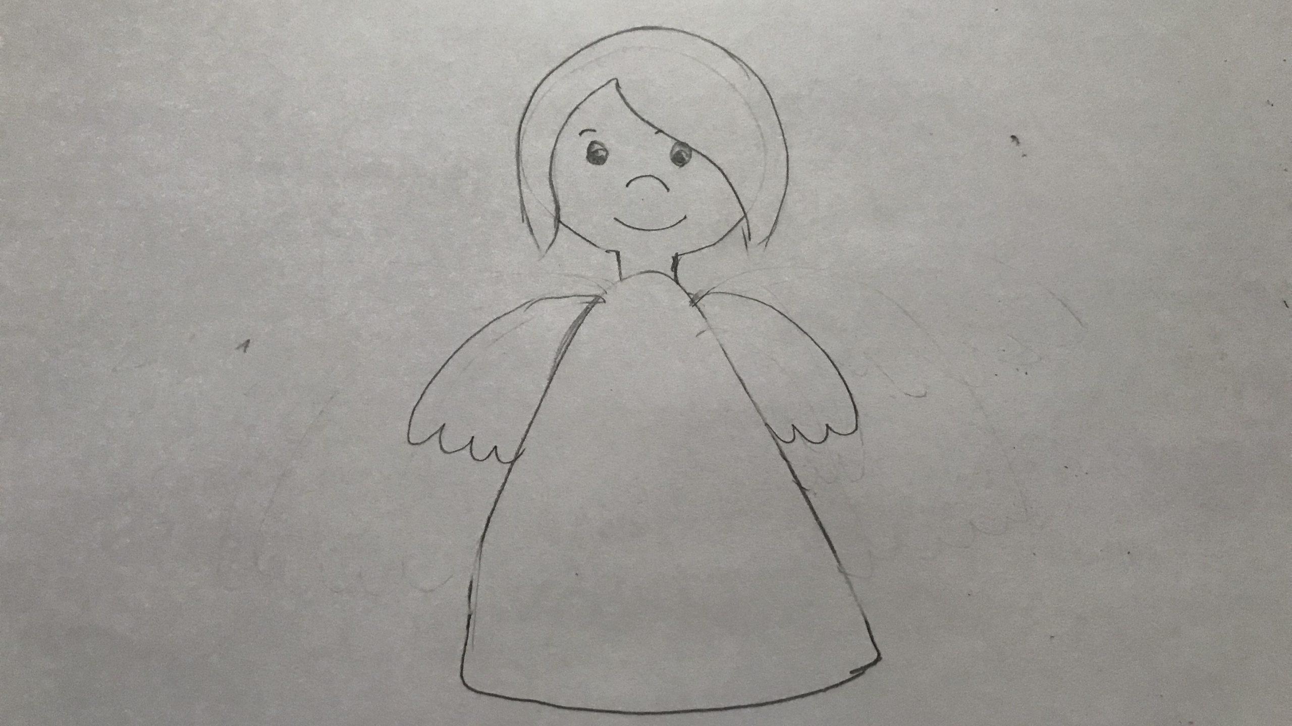 Engel Zeichnen - So Geht's | Focus.de über Engelsgesicht Malen