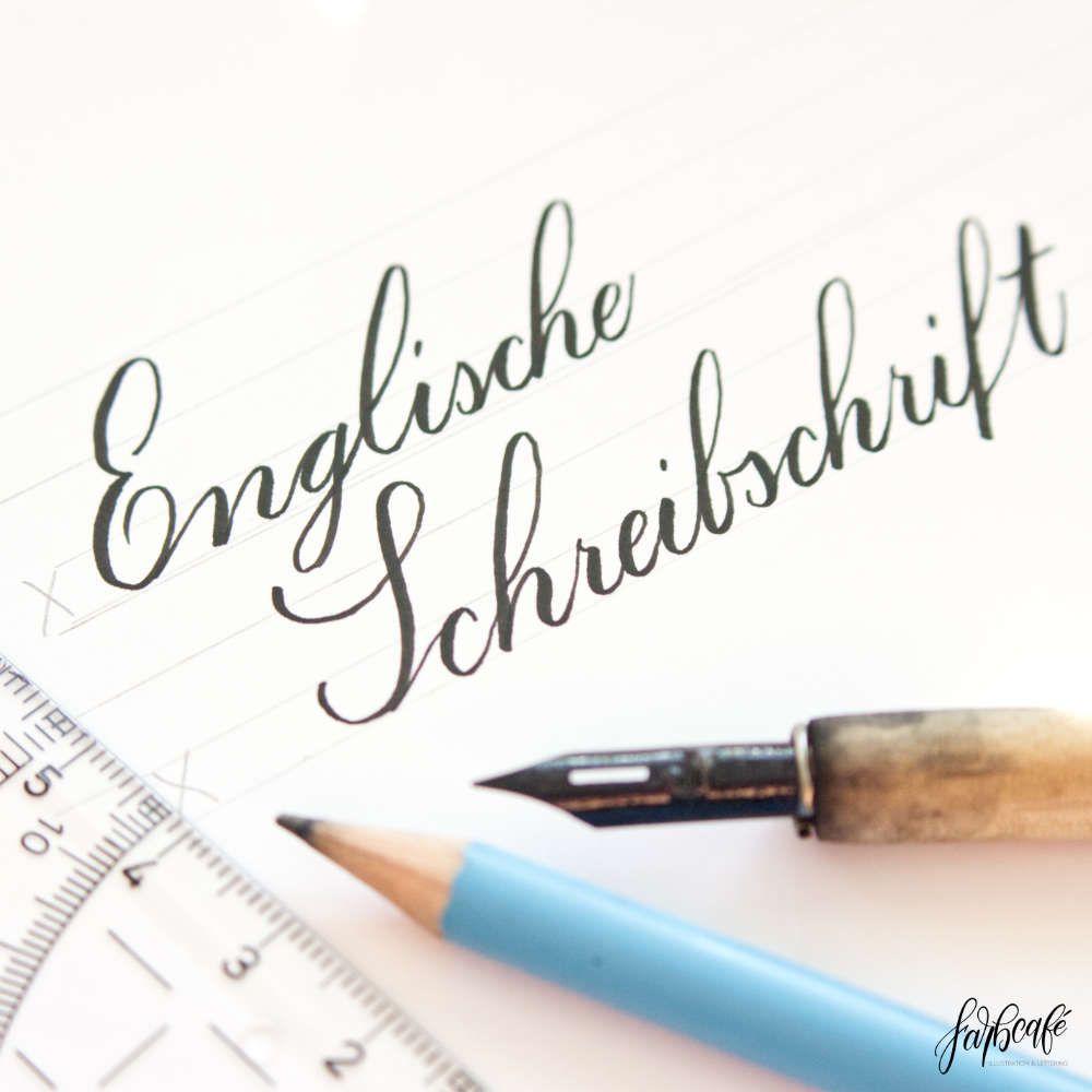 Englische Schreibschrift • Deine Einführung Mit Übungen für Schreibschrift Buchstaben Zum Kopieren