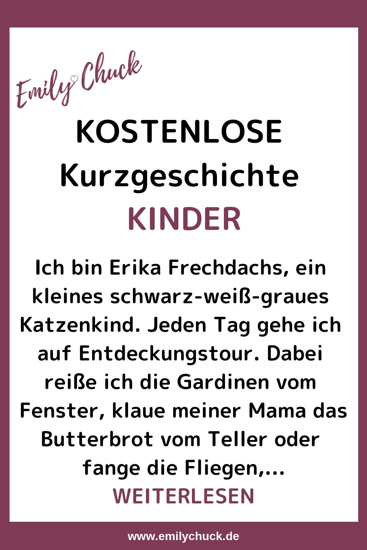 Erika Frechdachs Und Der Schnurrende Neuling | Lustige bei Geschichten Für Kinder Zum Vorlesen