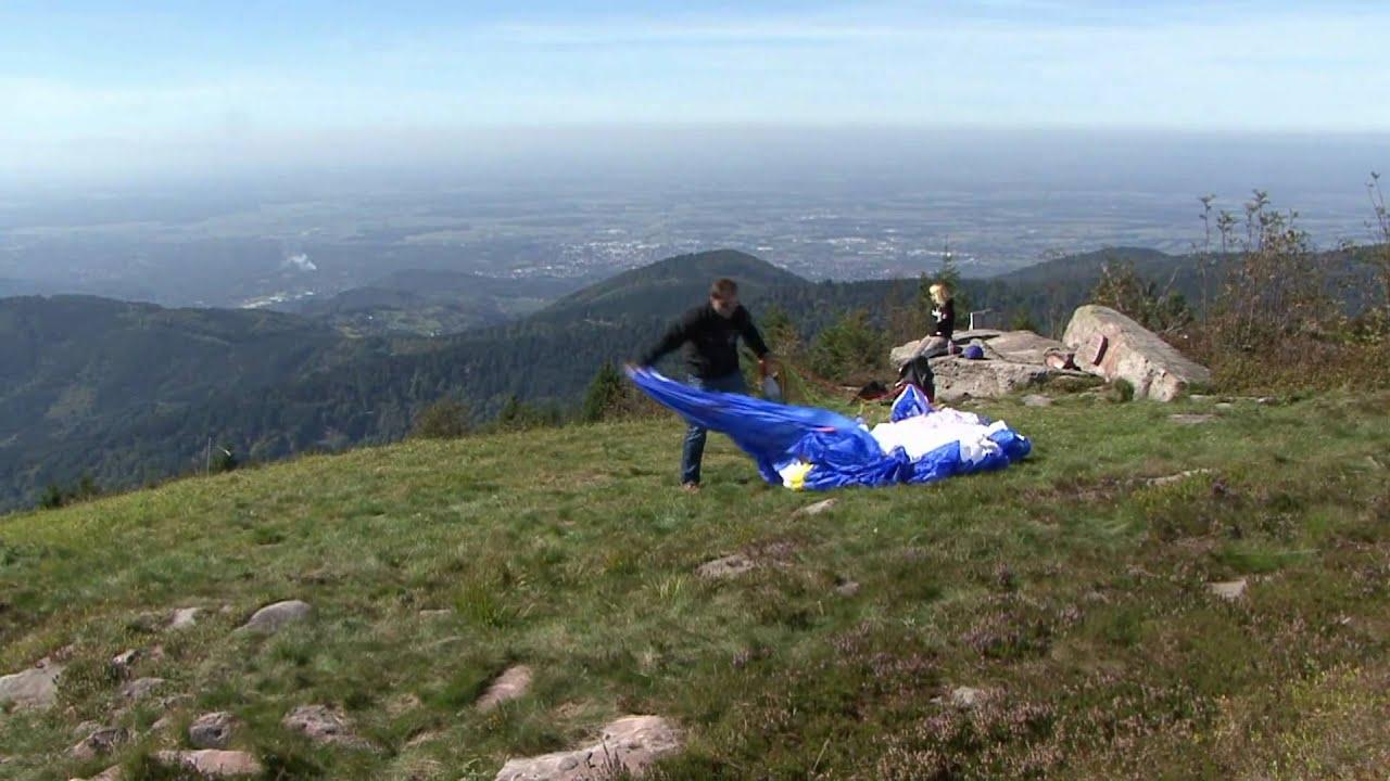 Erlebnisurlaub Im Schwarzwald - Gleitschirmfliegen In Seebach über Gleitschirmfliegen Schwarzwald