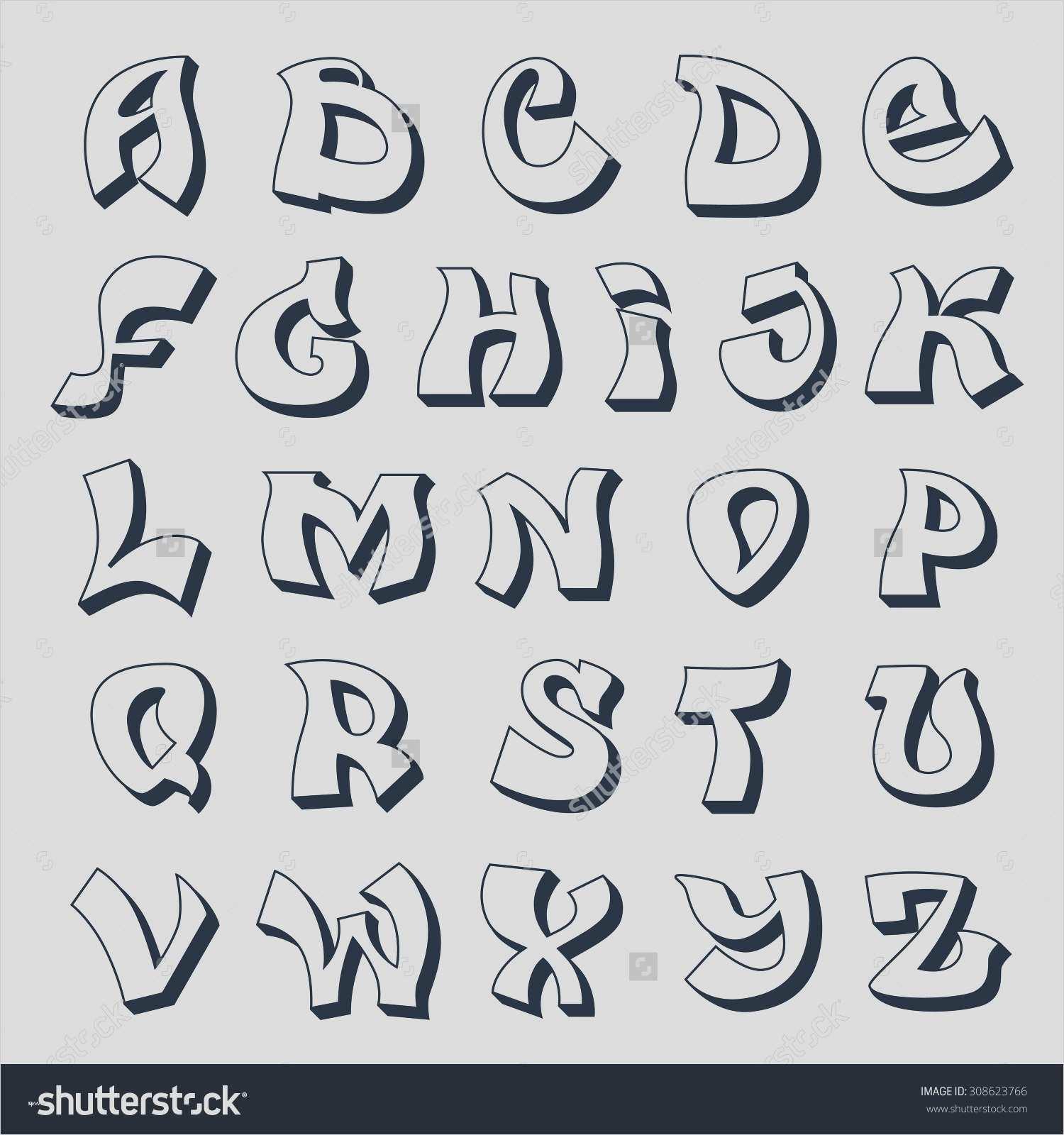 Erstaunlich Graffiti Vorlagen Für Anfänger Solche Können in Graffiti Buchstaben Vorlagen