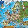 Europakarte (Karte Für Kinder) : Weltkarte - Karten Und ganzes Europakarte Zum Drucken
