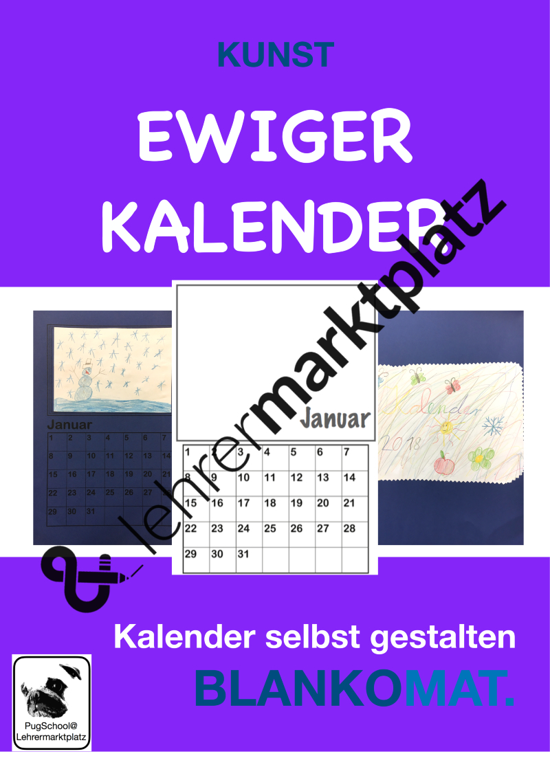 Ewiger Kalender - Einen Kalender Selbst Gestalten bei Immerwährender Kalender Selbst Gestalten