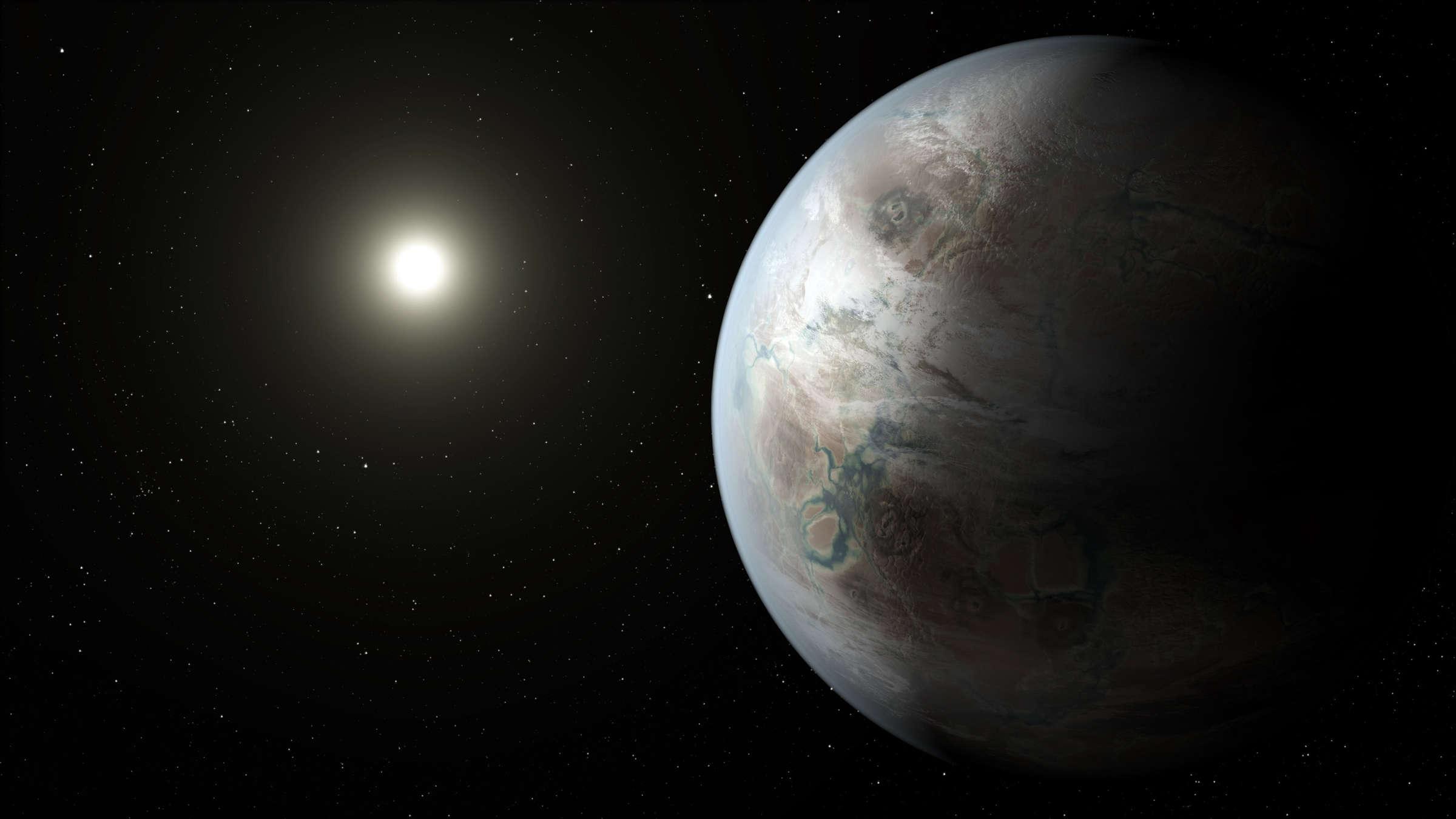 Exoplaneten: 18 Planeten, So Groß Wie Unsere Erde   Wissen mit Unterschied Zwischen Stern Und Planet