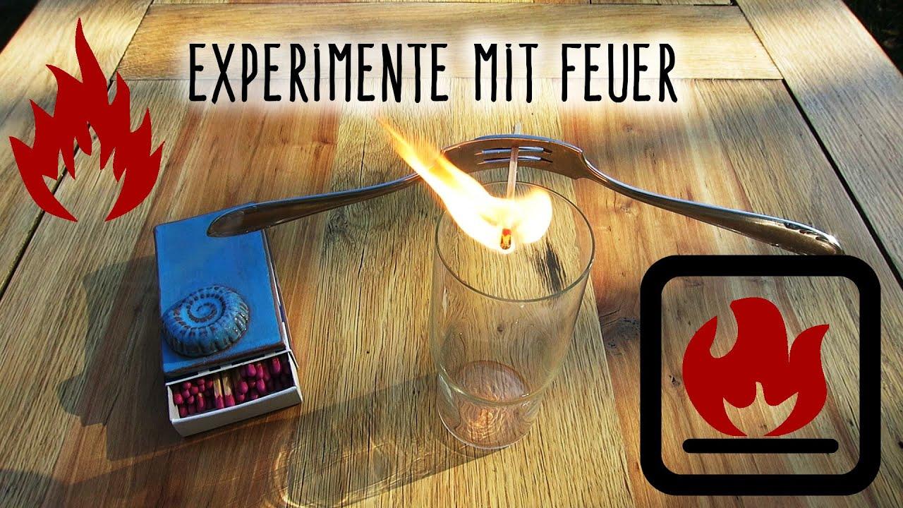 Experimente Mit Feuer | Einfach | Wenig Material über Feuer Experimente Für Kindergartenkinder