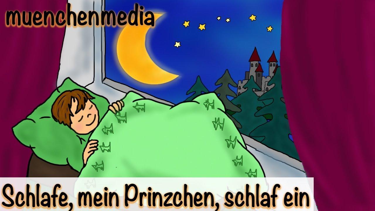 🌛 Schlafe, Mein Prinzchen, Schlaf Ein - Kinderlieder | Entspannende  Schlafmusik - Muenchenmedia verwandt mit Lied Schlafe Mein Prinzchen Schlaf Ein