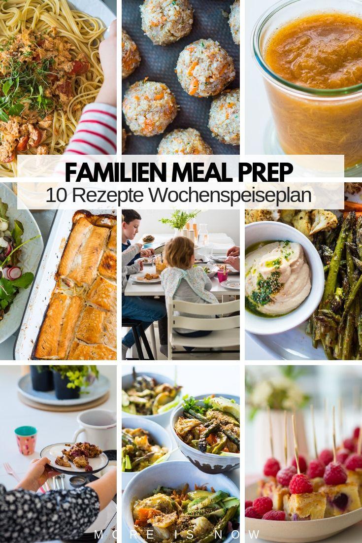 Familien Meal Prep Par Excellence - Mit Wenig Aufwand Kochen mit Rezepte Familie