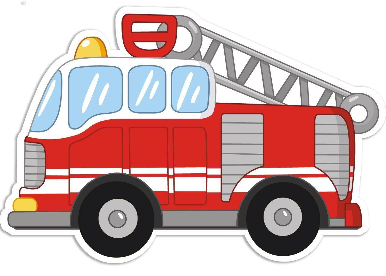Farbklecks Collection - Schlummerlicht - Feuerwehr Mit für Clipart Feuerwehrauto