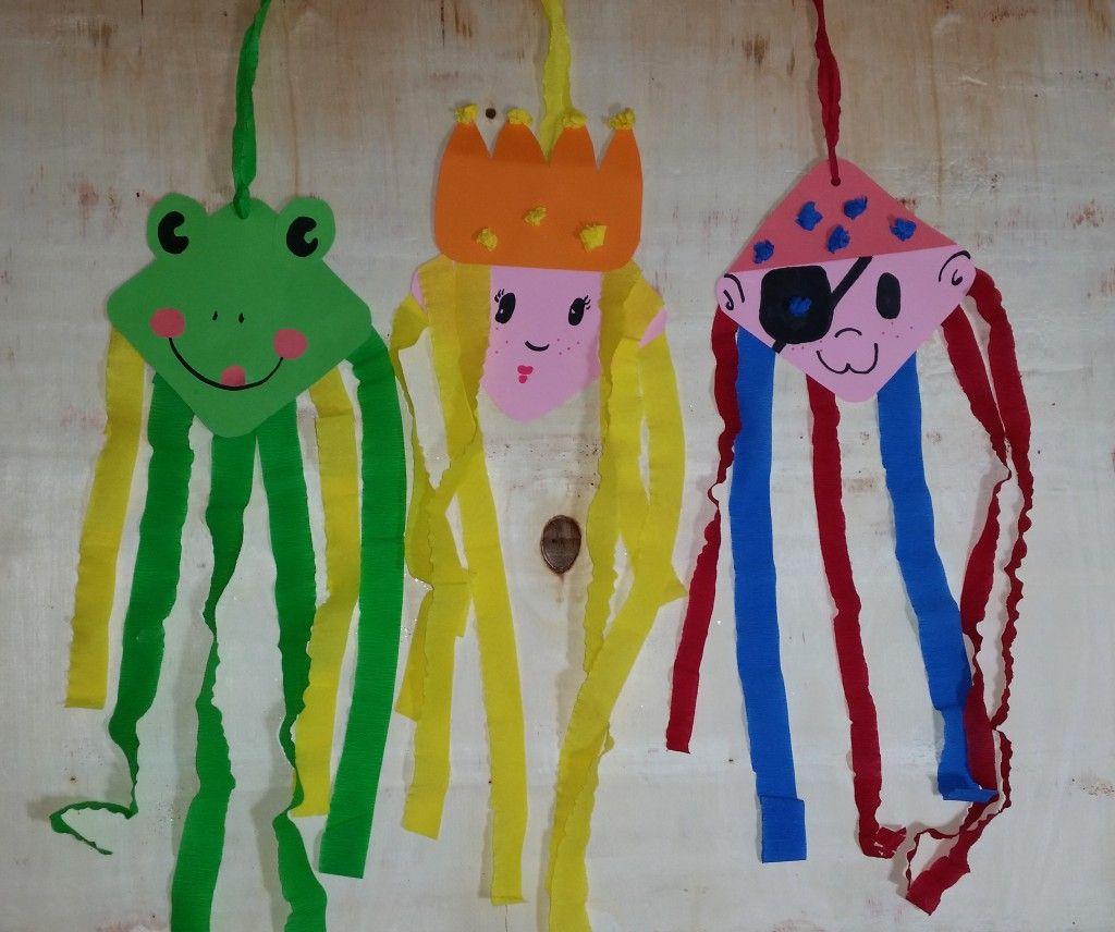Fasching Im Kindergarten- Basteln Mit Kindern (Mit Bildern bei Bastelarbeiten Für Kindergartenkinder