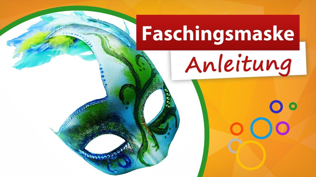 Faschingsmaske ✂ Anleitung Zum Selber Machen ★ Trendmarkt24 innen Faschingsmasken Selber Basteln