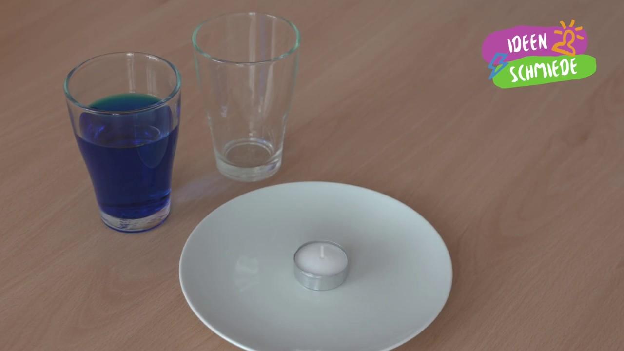 Faszinierendes Experiment Mit Teelicht bestimmt für Feuer Experimente Für Kindergartenkinder