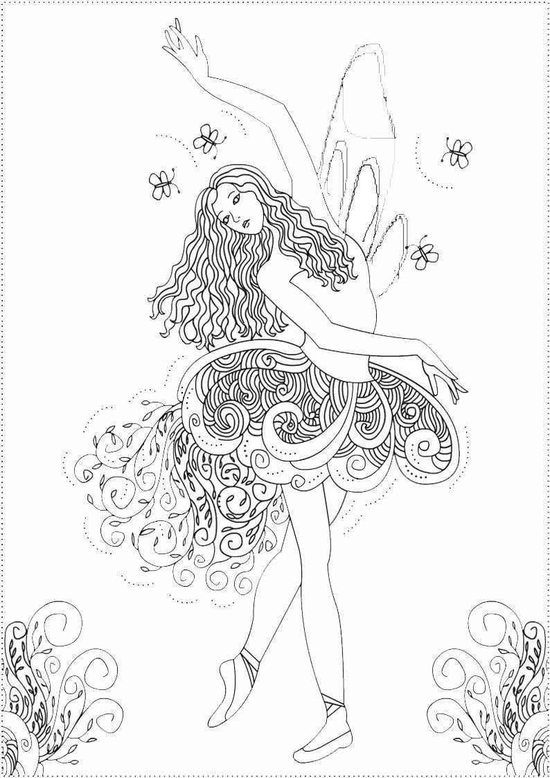 Feen-28 | Malvorlage Prinzessin ganzes Ausmalbilder Feen Prinzessin