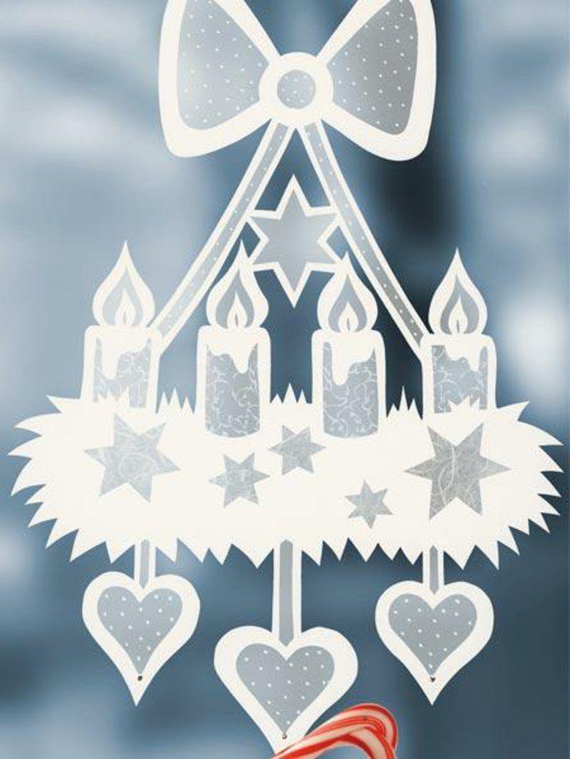 Fensterbilder Zu Weihnachten: Originelle Bastelideen Zum innen Fensterbilder Weihnachten Vorlagen Transparentpapier