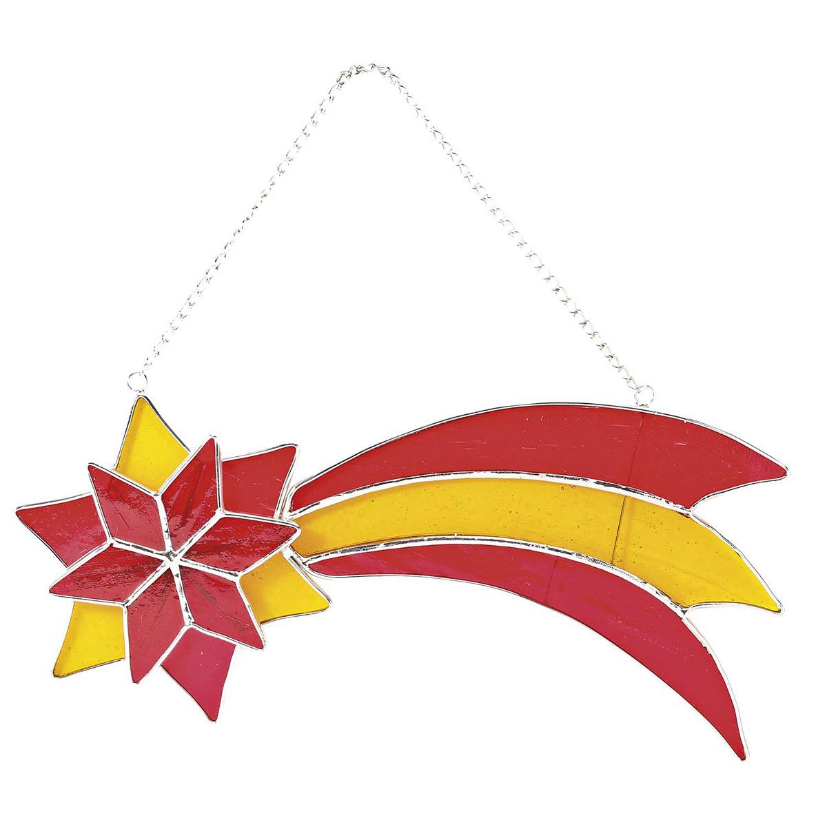 Fensterschmuck »Stern Von Betlehem« An Metallkette ganzes Stern Von Bethlehem Basteln