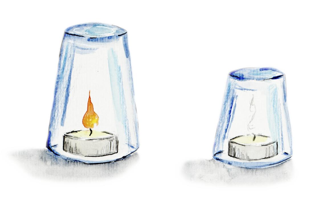 Feuer Braucht Luft - Experimente - Spürnasenecke für Feuer Experimente Für Kindergartenkinder