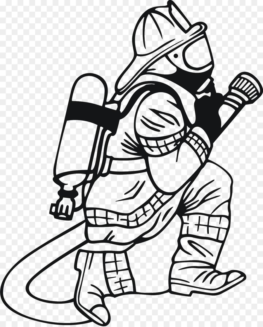 Feuerwehr-Malbuch-Feuerwehr-Feuerwehr Kind - Feuerwehrmann über Malbuch Feuerwehr