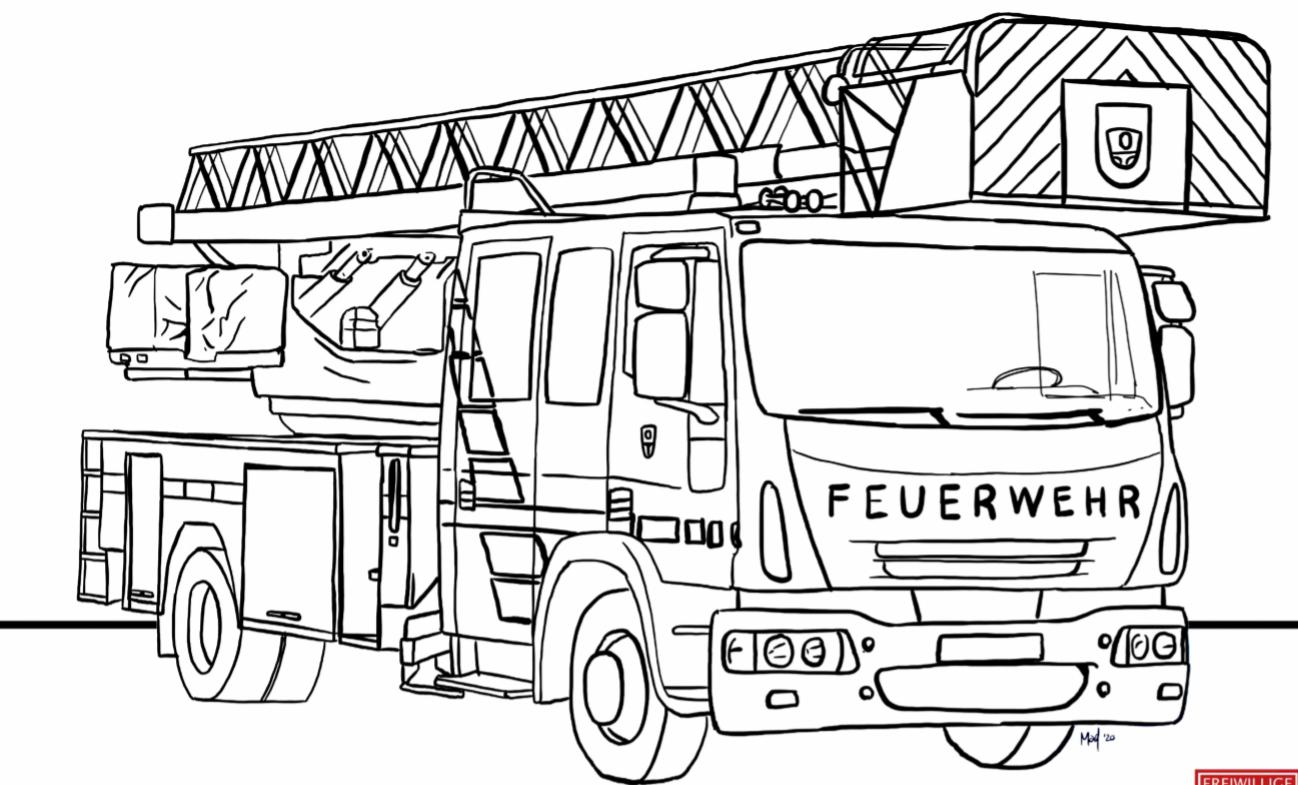 Feuerwehr Schwarzenbruck Für Daheim – Ausmalbilder Für in Feuerwehr Bilder Zum Ausmalen