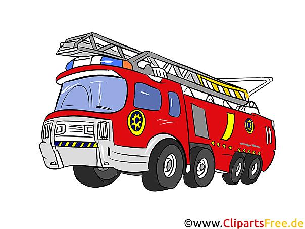 Feuerwehrauto Illustration, Bild, Clipart Autos in Clipart Feuerwehrauto