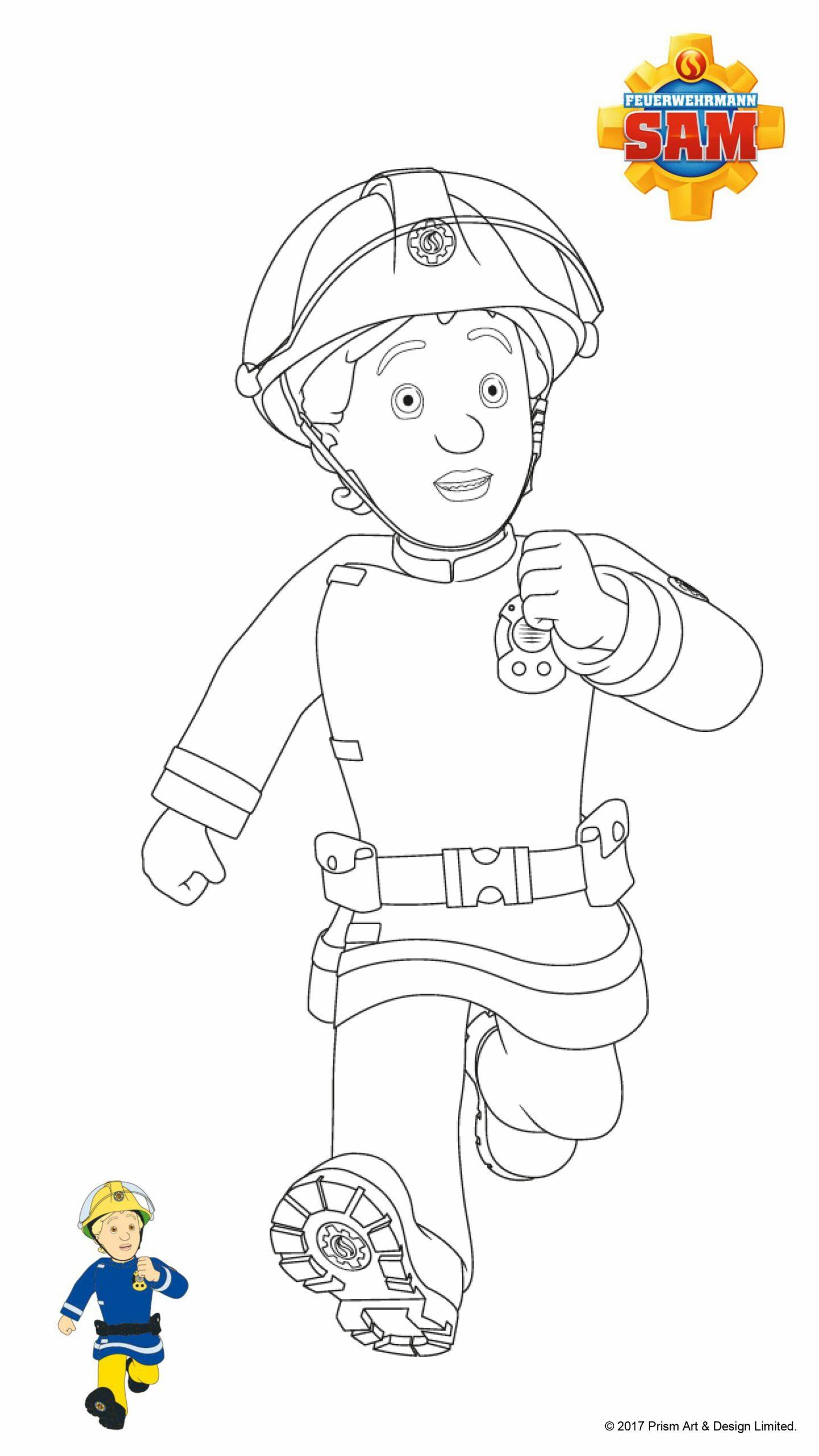 Feuerwehrmann Sam Ausmalbilder | Mytoys Blog verwandt mit Ausmalbild Feuerwehrmann Sam