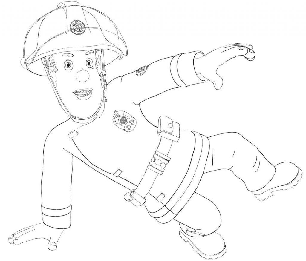 Feuerwehrmann Sam Ausmalbilder Zum Ausdrucken - Mifus Family verwandt mit Ausmalbild Feuerwehrmann Sam