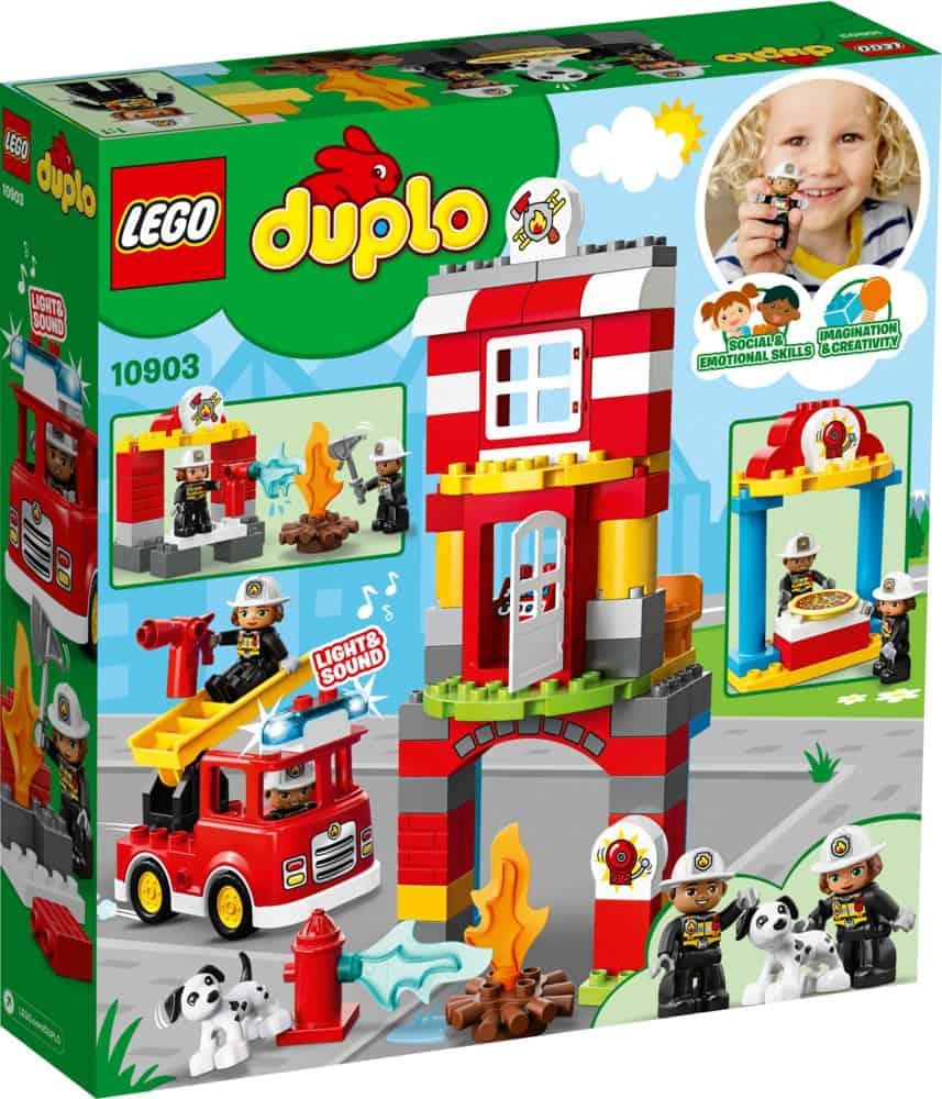 Feuerwehrwache Lego Duplo 10903 bestimmt für Lego Feuerwehrwache