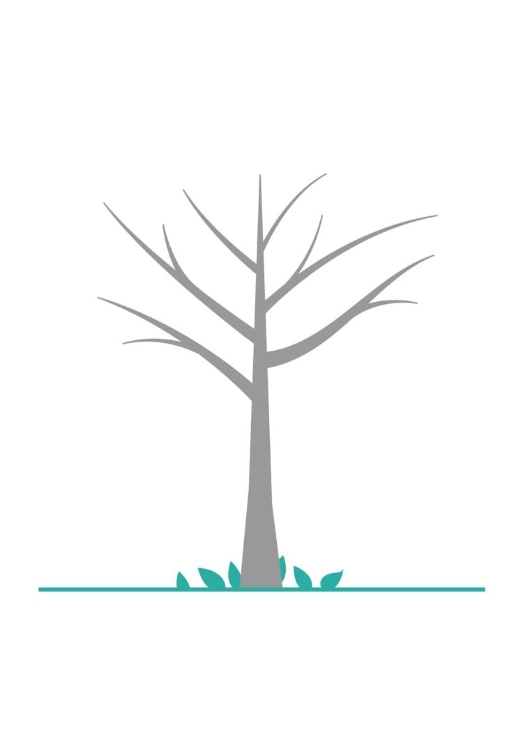 Fingerabdruck Baum Vorlage & Andere Motive Kostenlos Zum über Bastelvorlage Baum