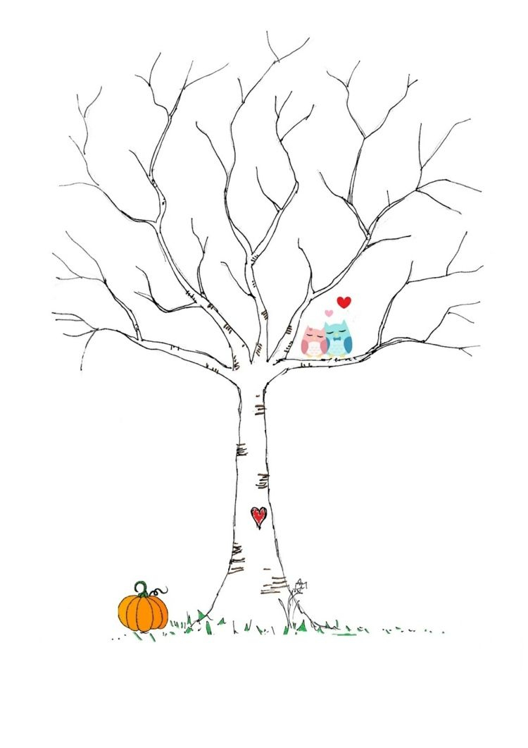 Fingerabdruck Baum Vorlage & Andere Motive Kostenlos Zum verwandt mit Bastelvorlage Baum