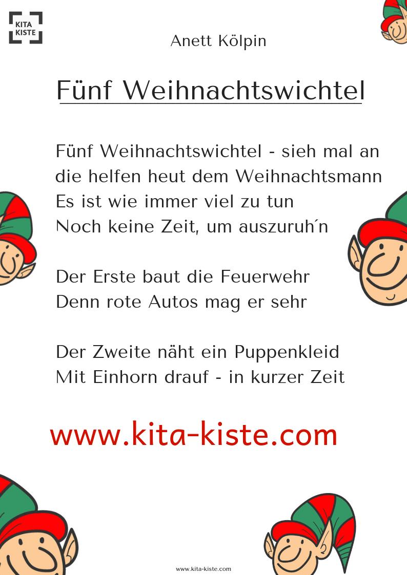 Fingerspiel Mit Vierzeiler Am Anfang & Ende Für verwandt mit Kurze Weihnachtsgedichte Für Kindergartenkinder