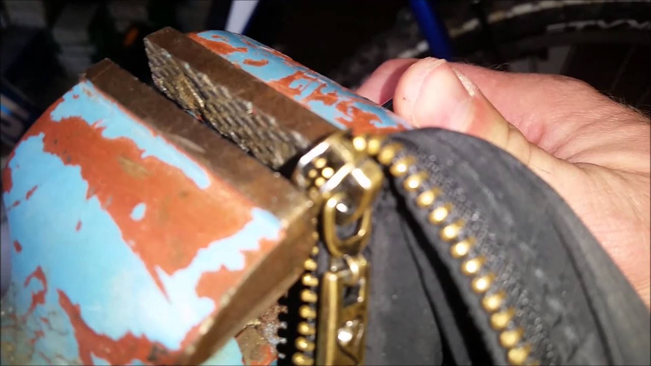 Fix A Zipper Reißverschluss Selber Reparieren Tutorial Www.sperrauf.de  Schlüssel Sheriff über Wie Funktioniert Ein Reißverschluss