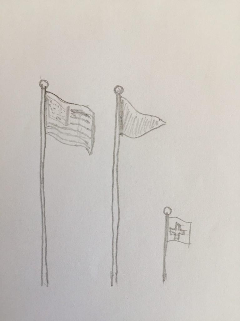 Flagge Oder Fahne – Kennt Ihr Den Unterschied? – Philip Salzmann bestimmt für Unterschied Fahne Flagge