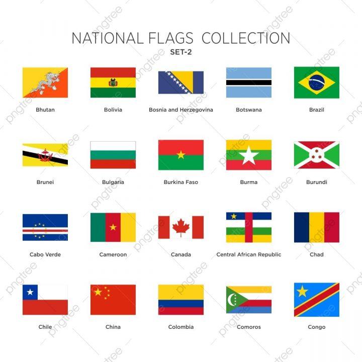 Flaggen Der Welt Sammlung Setzen, Fahnen, Flaggen, Welt Png über Flaggen Der Welt Download