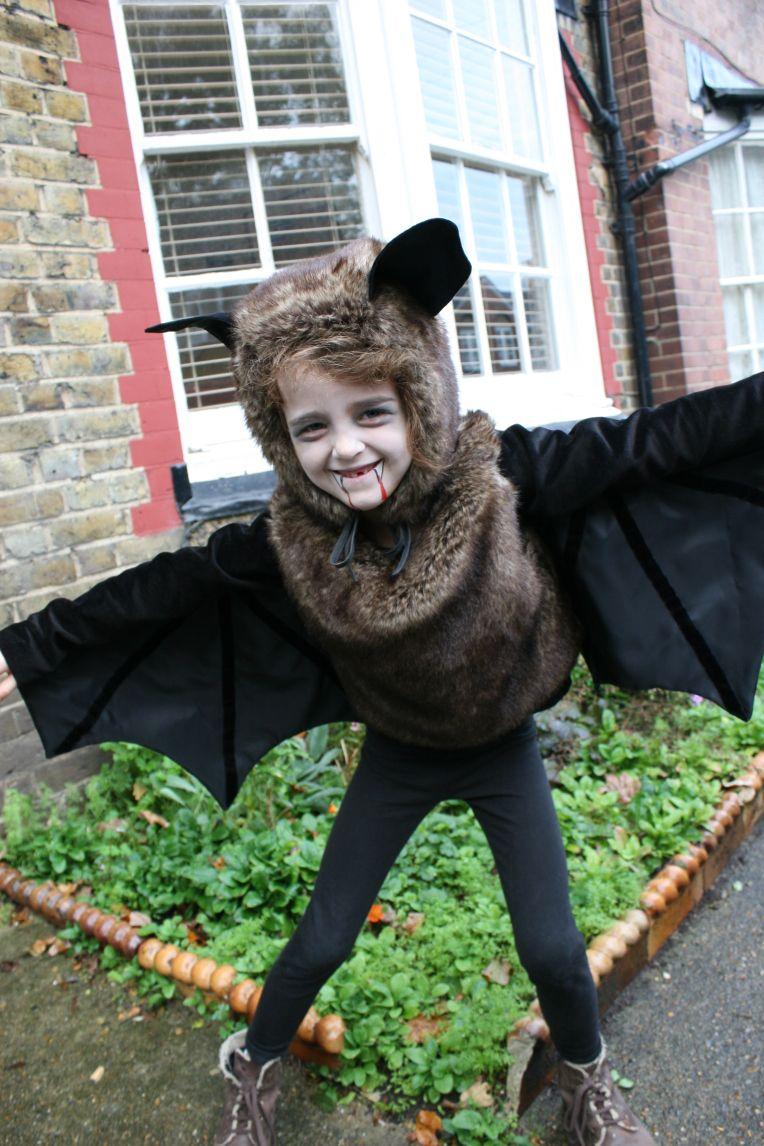 Fledermaus Kostüm Selber Machen: Diy & Anleitung (Mit über Halloween Kinderkostüme Selber Machen