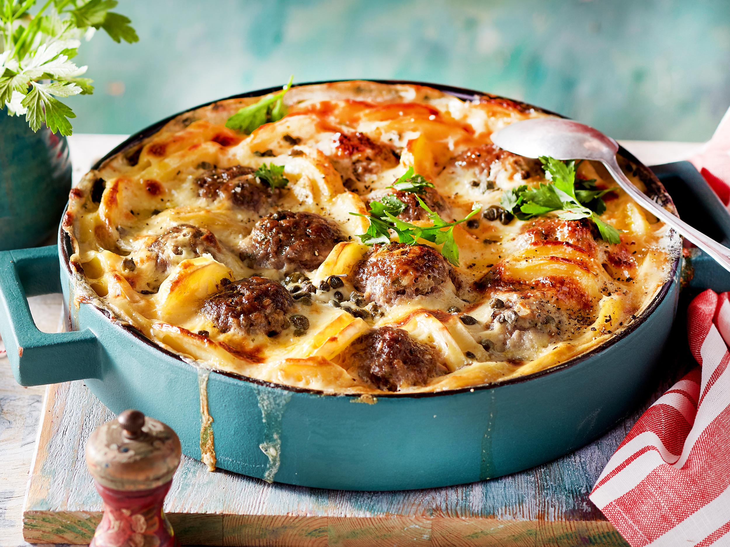 Fleischgerichte Aus Dem Ofen - Die Besten Rezepte   Lecker für Leckere Pfannengerichte Mit Fleisch
