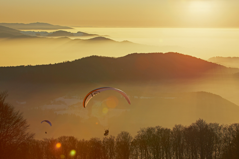 Fliegen | Schwarzwald Tourismus Gmbh bei Gleitschirmfliegen Schwarzwald