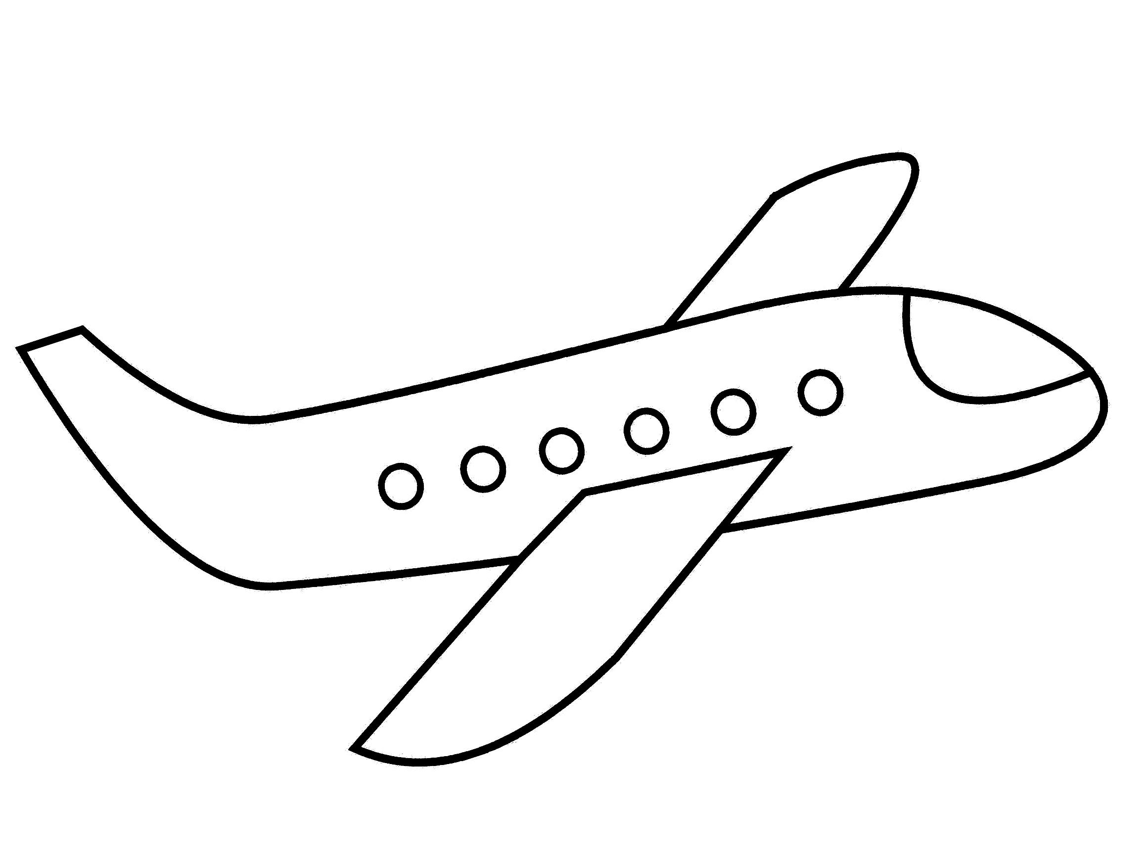 ausmalbilder flieger - kinderbilder.download