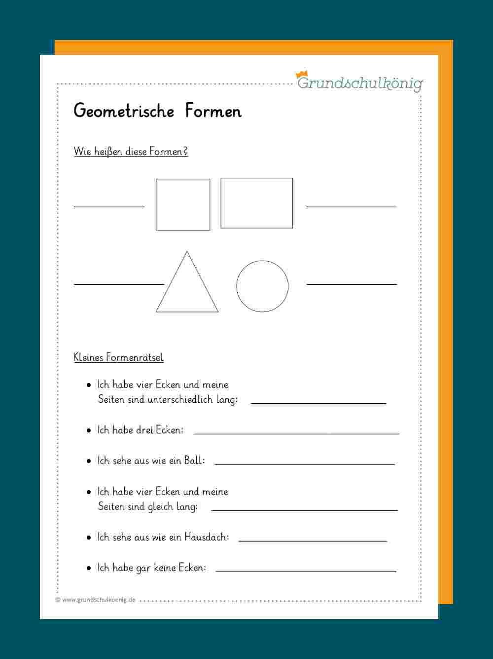 Formen Und Körper über Mathematische Formen