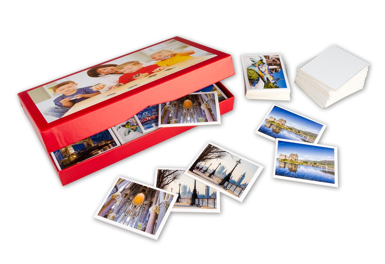 Foto-Memo Mit Eigenen Fotos Gestalten | Rossmann Fotowelt in Memory Spiel Selbst Gestalten