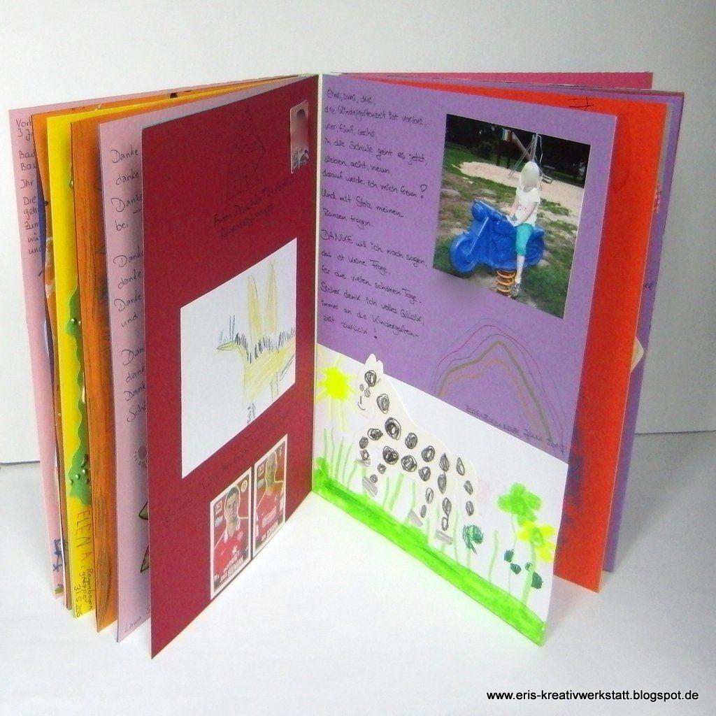 Fotoalbum Der Vorschulkinder Als #abschiedsgeschenk Für Den für Abschiedsgeschenk Für Erzieherin Von Kindern