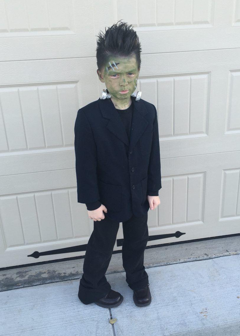 Frankenstein Kostüm Selber Machen | Halloween Kostüme Kinder bei Halloween Kinderkostüme Selber Machen