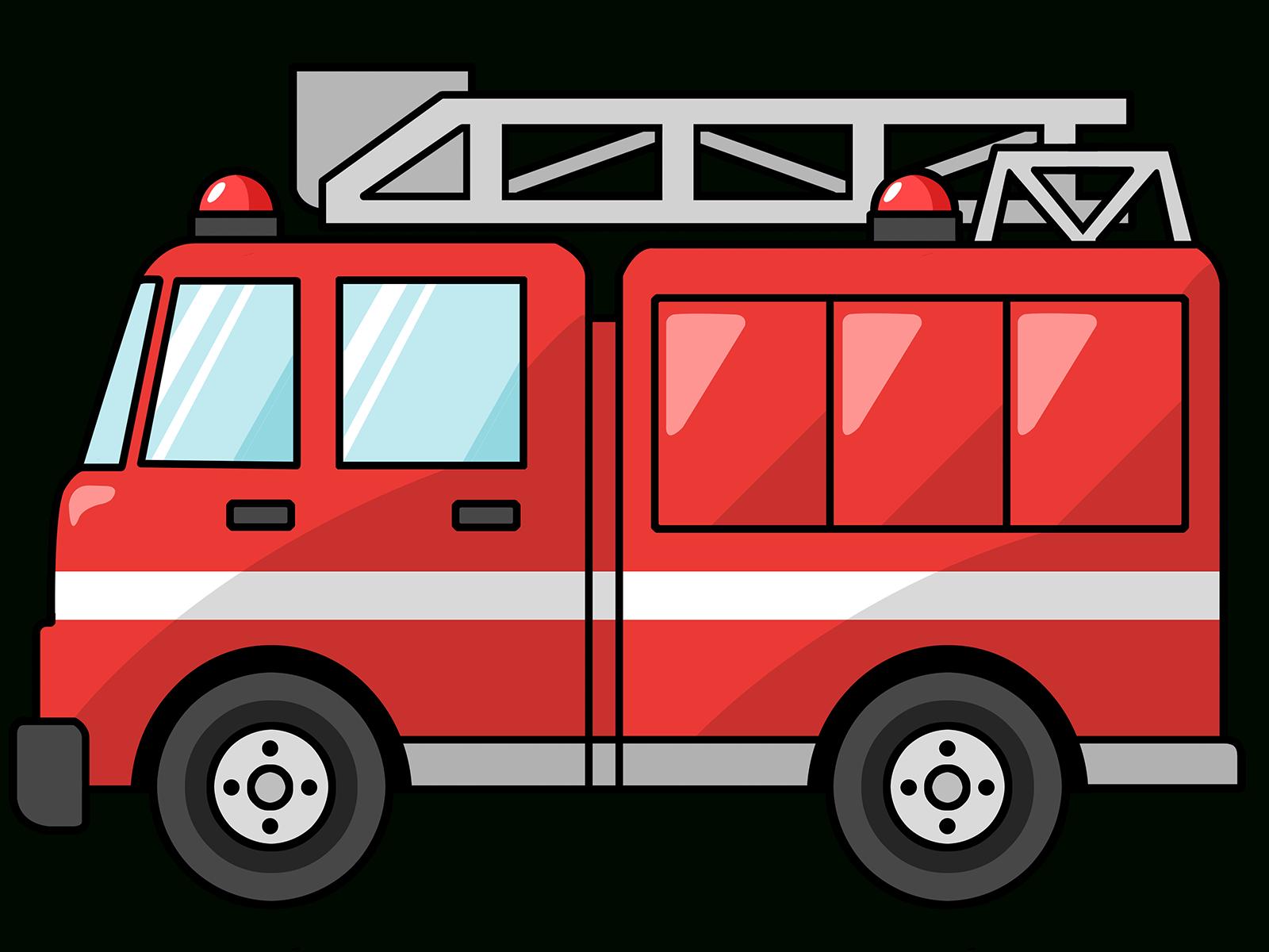 Free Domain-Fire Truck Clipart (Mit Bildern) | Clipart in Clipart Feuerwehrauto