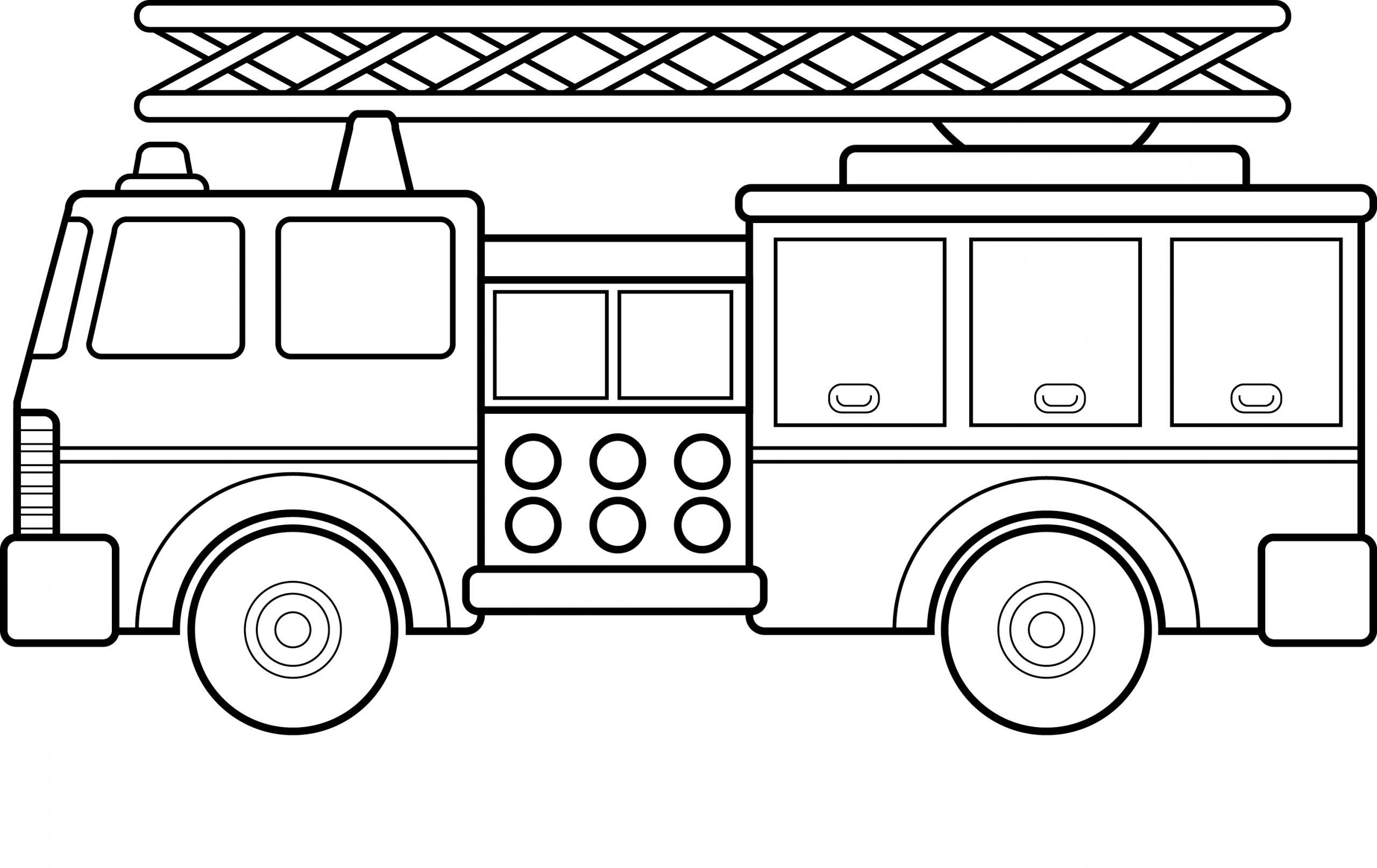 Free Printable Fire Truck Coloring Pages For Kids (Mit bei Feuerwehrauto Zum Ausmalen