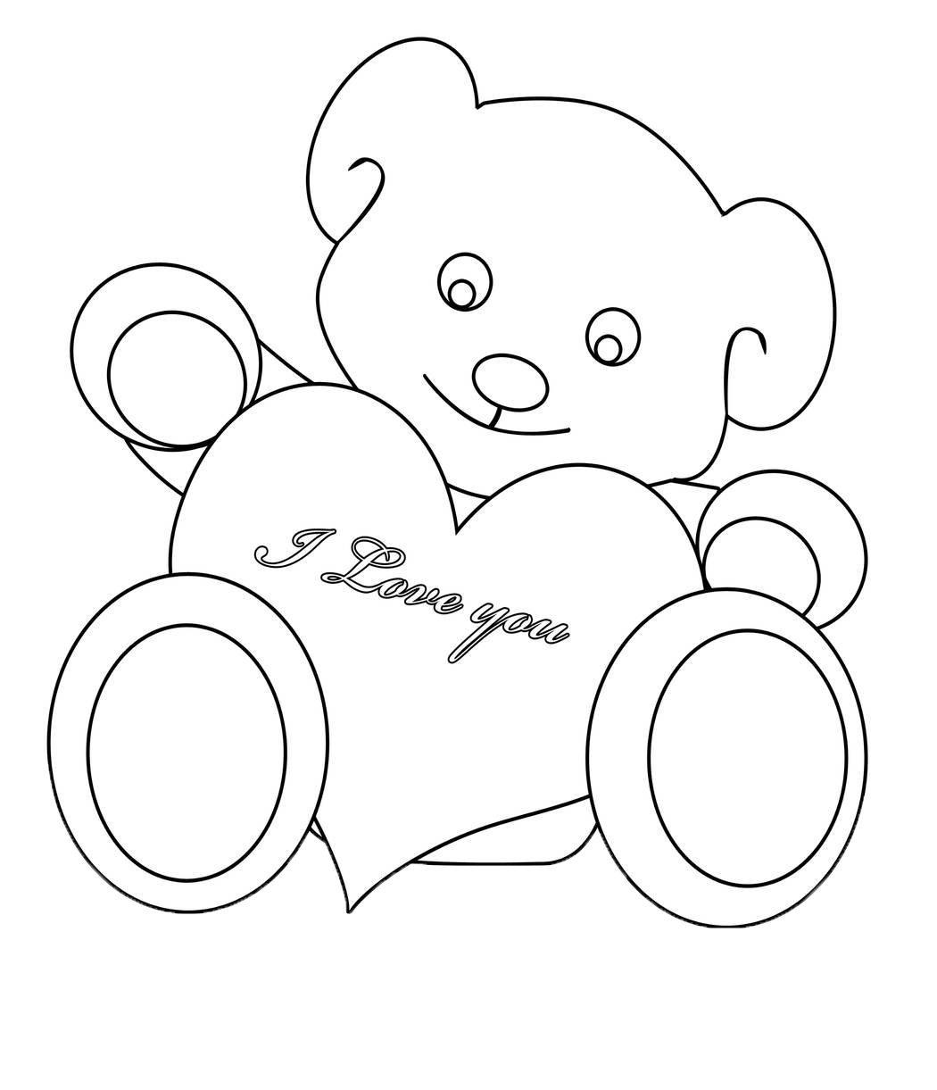 Frei Bedruckbare Teddybar Malvorlagen - Malvorlagen Für Kinder innen Ausmalbild Teddy