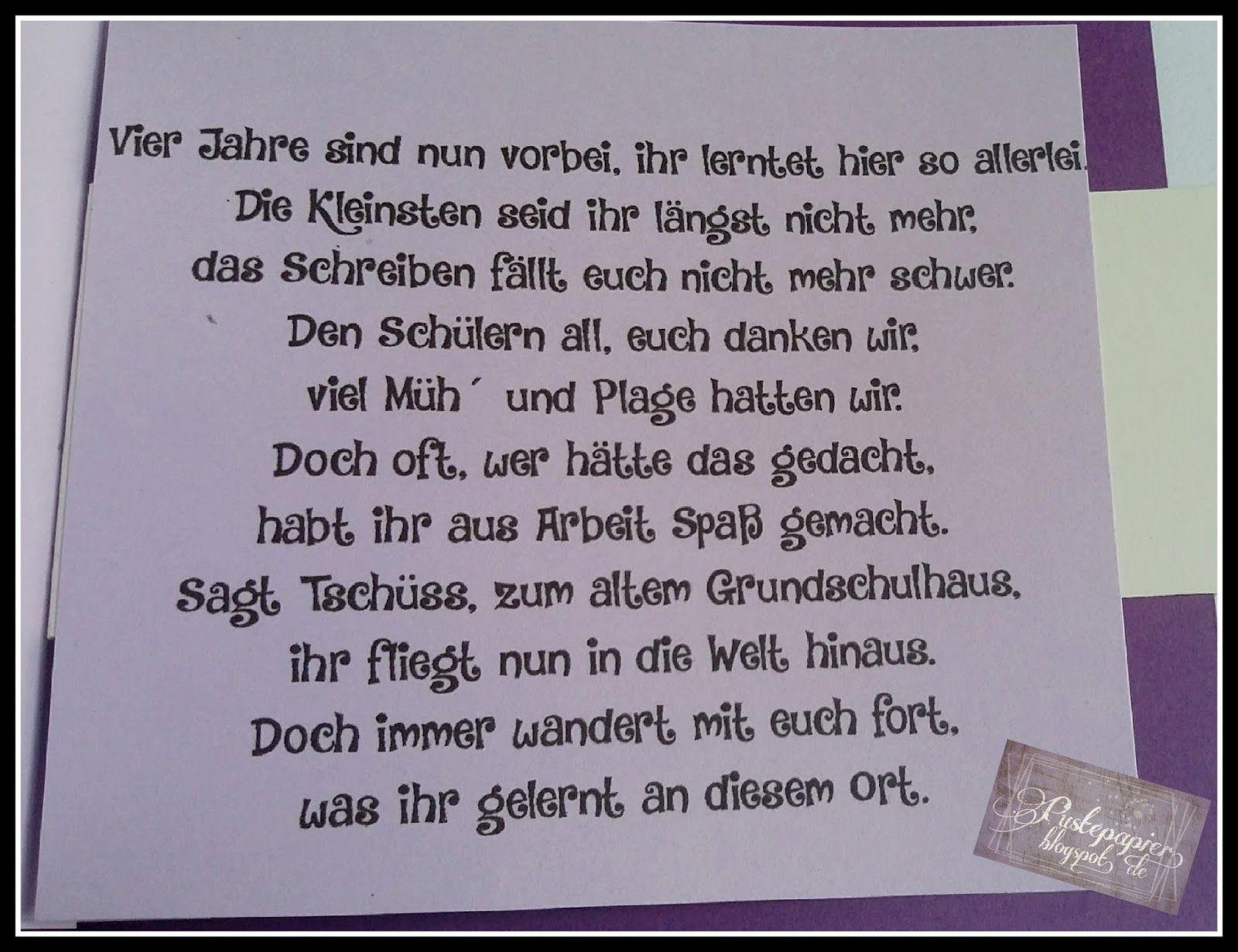 Friendship Bag Zum Abschied Aus Der Grundschule | Geschenke über Verabschiedung Lehrerin Grundschule Spruch