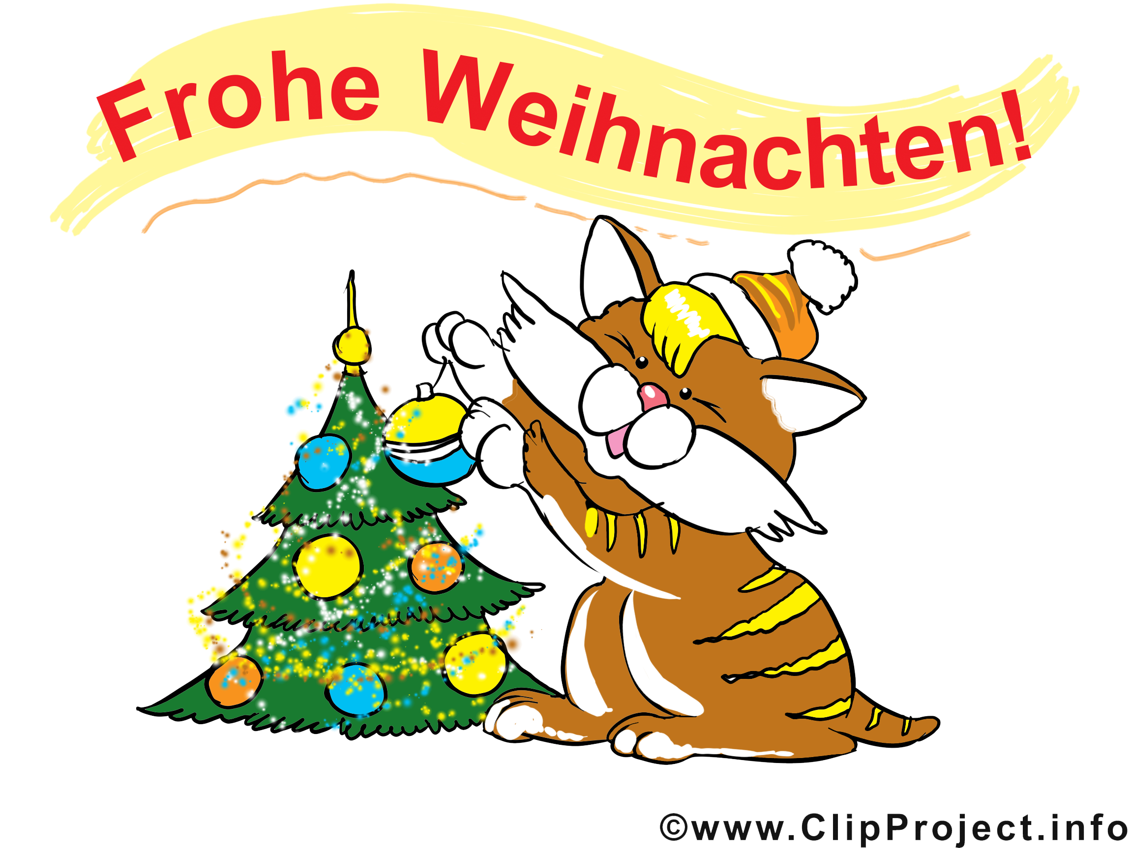 Frohe Weihnachten Bilder Lustig bei Frohe Weihnachten Clipart Kostenlos