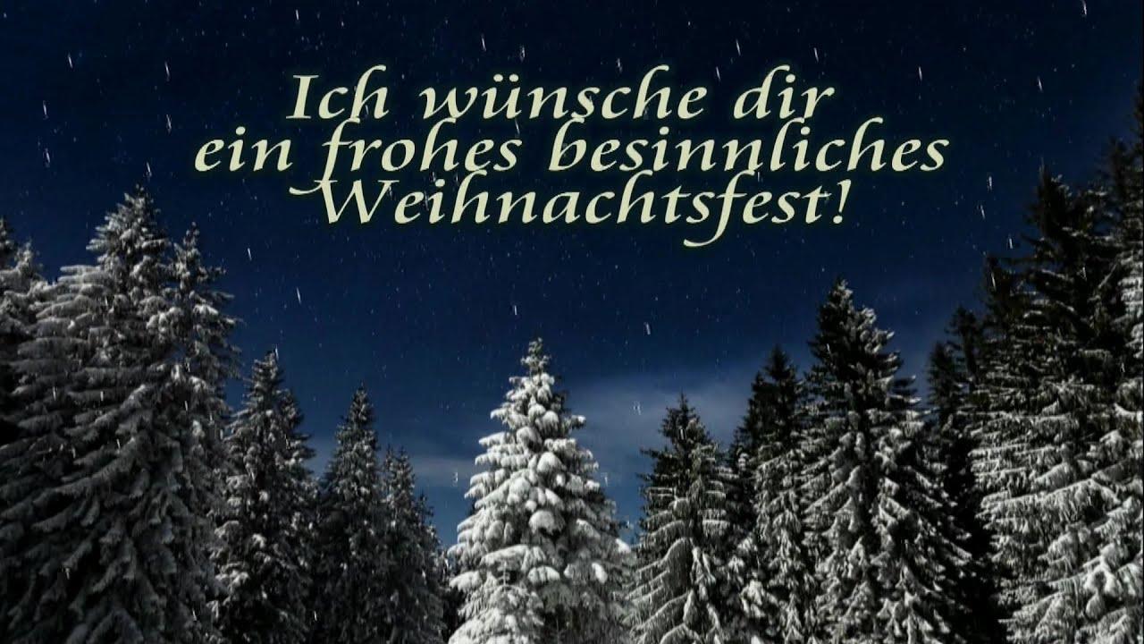 Frohe Weihnachten Weihnachtsgruß Video & Guten Rutsch Grüße Whatsapp  Weihnachtsgrüße Kostenlos 🎄🎅 innen Kostenlose Weihnachtsmails