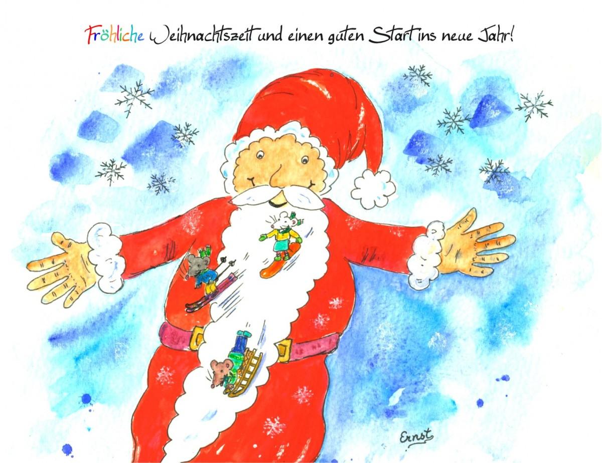 Fröhliche Weihnachtsgrüße: Kostenlose Weihnachtskarten Zum für Kostenlose Weihnachtskarten Zum Ausdrucken