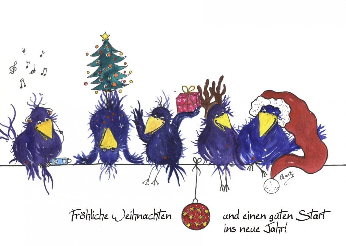 Fröhliche Weihnachtsgrüße: Kostenlose Weihnachtskarten Zum in Weihnachtsgrüße Zum Ausdrucken