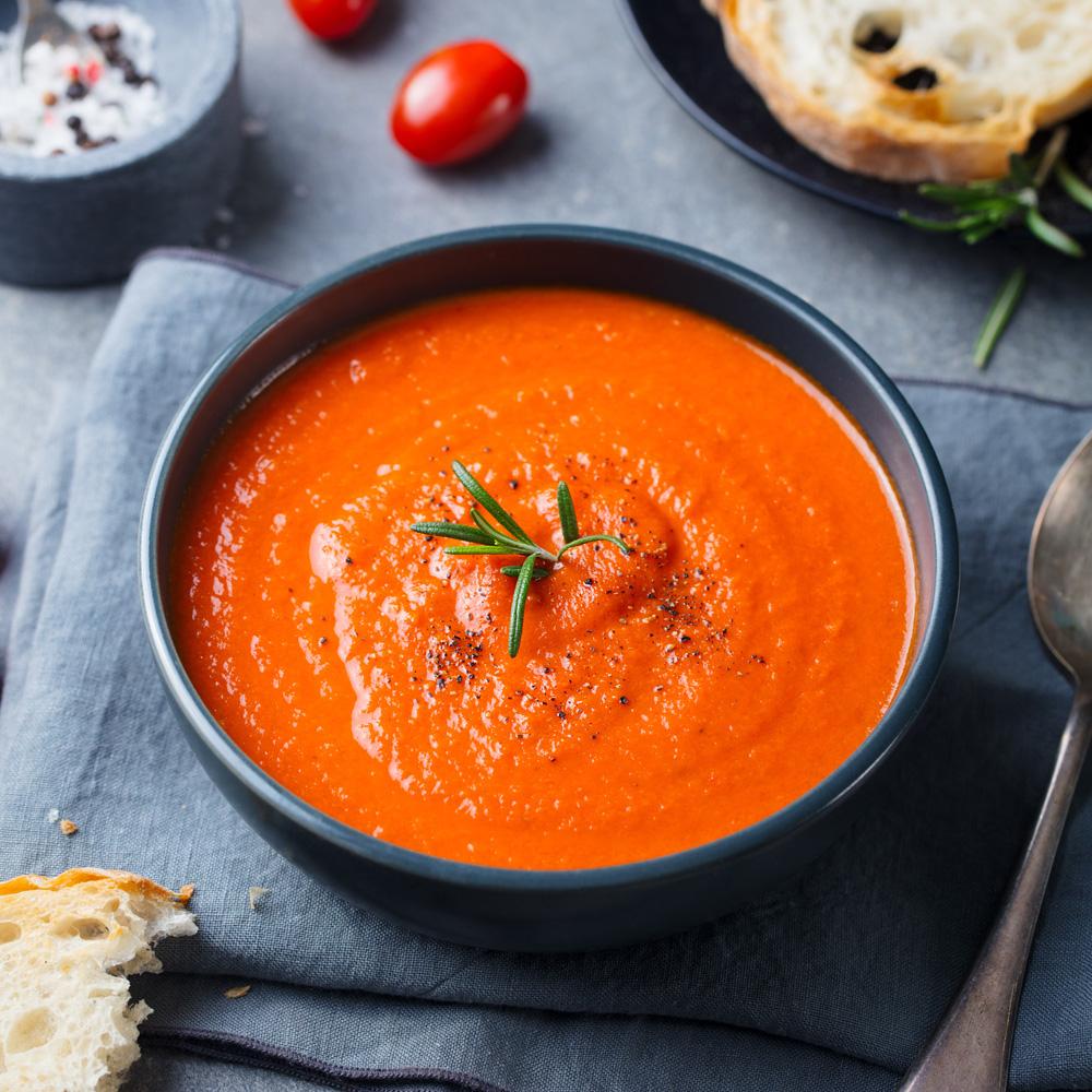 Fruchtige Tomatensuppe für Tomatensuppe Aus Passierten Tomaten